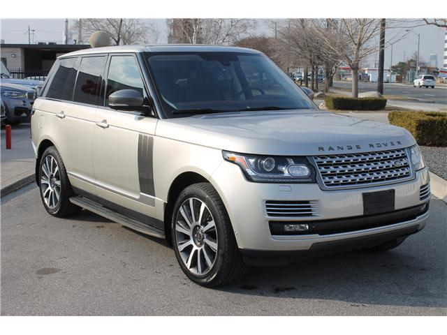 2013 Land Rover Range Rover Supercharged Plus Autobiography Pkg