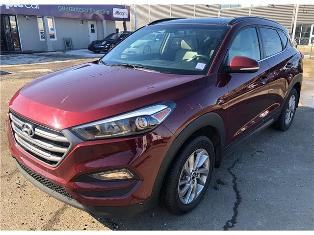 2016 Hyundai Tucson Luxury (Stk: P0871) in Edmonton - Image 2 of 11