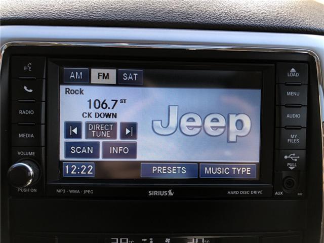 2011 Jeep Grand Cherokee Laredo (Stk: 14599) in Fort Macleod - Image 17 of 21