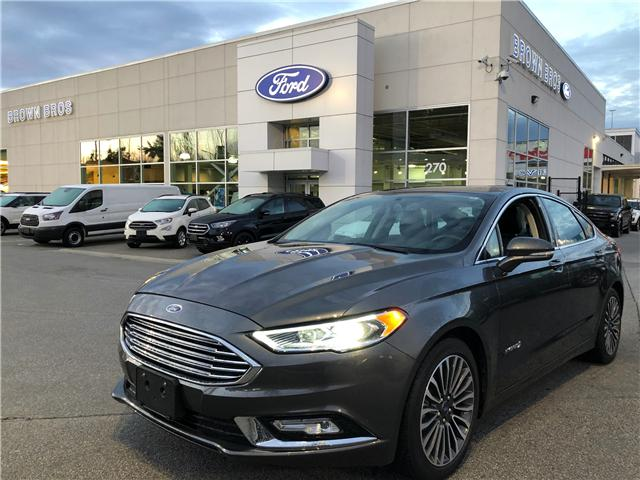 2018 Ford Fusion Hybrid Titanium (Stk: RP19122) in Vancouver - Image 1 of 24
