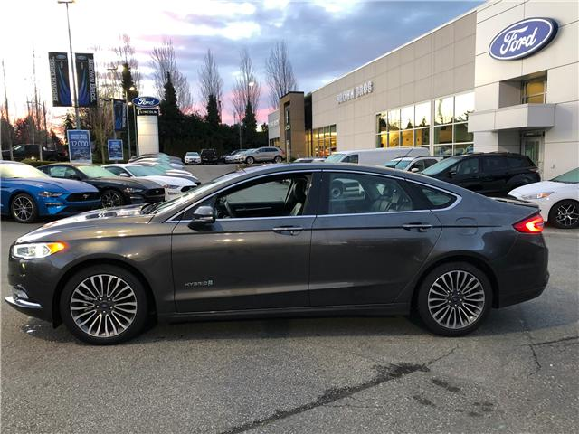 2018 Ford Fusion Hybrid Titanium (Stk: RP19122) in Vancouver - Image 2 of 24