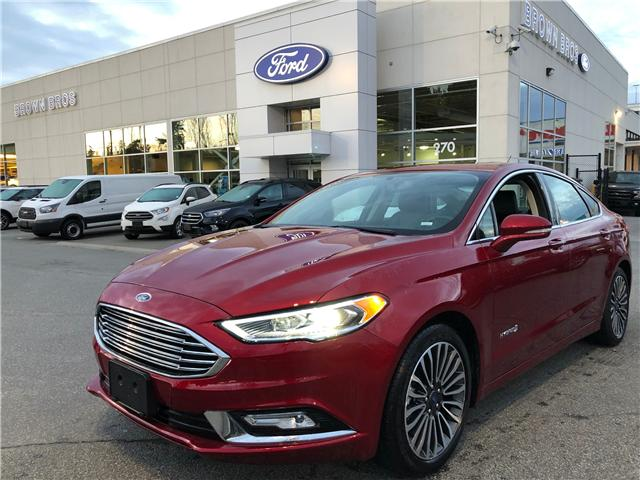 2018 Ford Fusion Hybrid Titanium (Stk: RP19121) in Vancouver - Image 1 of 25