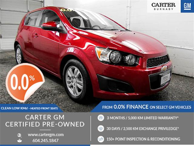 2016 Chevrolet Sonic LT Auto (Stk: J8-99751) in Burnaby - Image 1 of 24