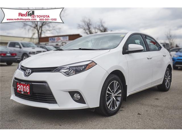2016 Toyota Corolla LE (Stk: 13665A) in Hamilton - Image 1 of 18