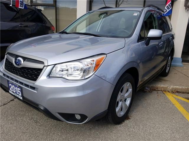 2015 Subaru Forester 2.5i Convenience Package (Stk: OP10286) in Mississauga - Image 1 of 9