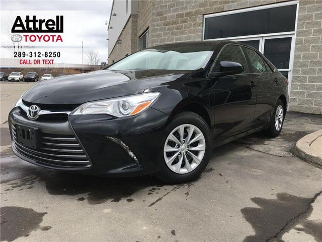 2017 Toyota Camry LE KEYLESS, BACKUP CAMERA, BLUETOOTH, ABS, CRUISE, (Stk: 8604) in Brampton - Image 1 of 25