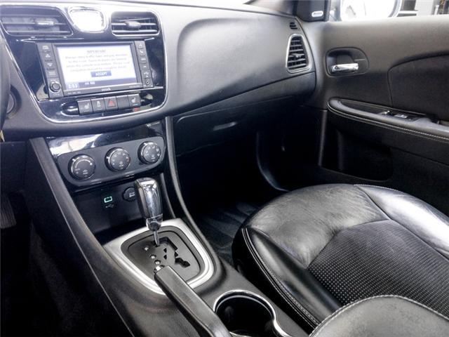 2012 Chrysler 200 S (Stk: 9-6066-1) in Burnaby - Image 9 of 24