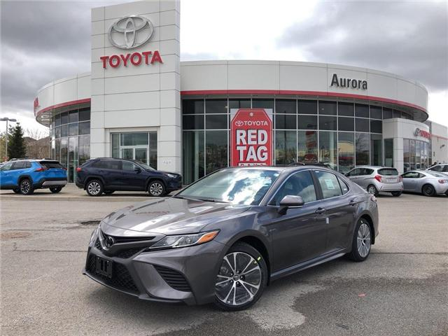 2019 Toyota Camry SE (Stk: 30802) in Aurora - Image 1 of 15