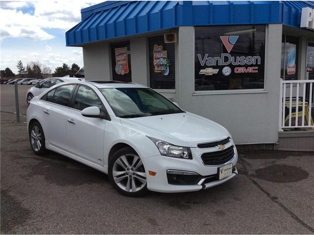 2016 Chevrolet Cruze LTZ (Stk: 194141A) in Ajax - Image 1 of 25