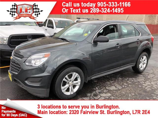 2017 Chevrolet Equinox LS (Stk: 46114) in Burlington - Image 1 of 26