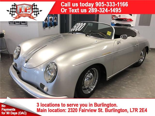 1957 Porsche 356 Vintage Speedster, Manual, Convertible, 1721 Miles (Stk: 46249) in Burlington - Image 1 of 18