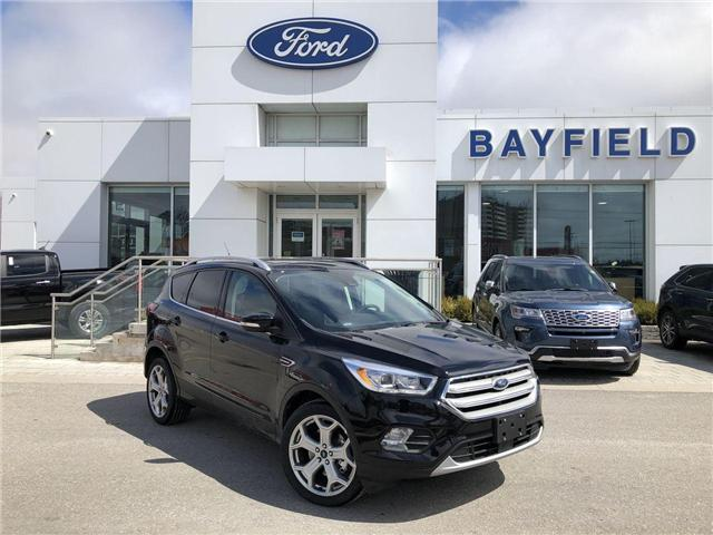 2019 Ford Escape Titanium (Stk: ES19413) in Barrie - Image 1 of 28