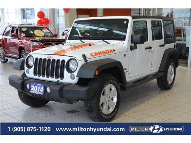 2014 Jeep Wrangler Unlimited Sport (Stk: 218505) in Milton - Image 1 of 34