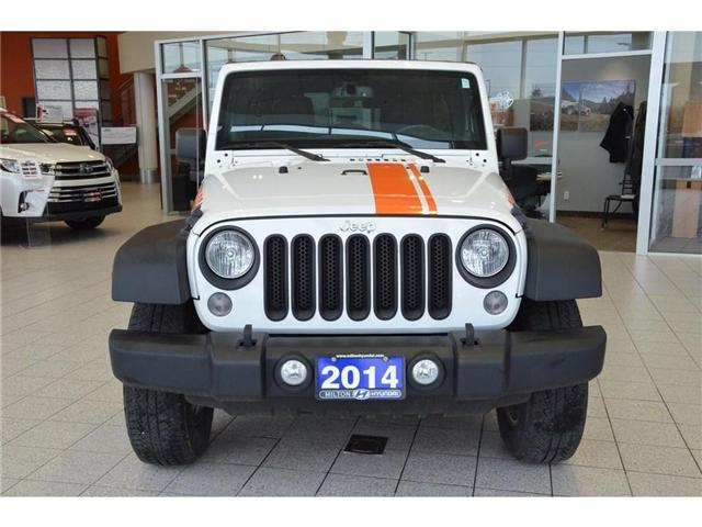 2014 Jeep Wrangler Unlimited Sport (Stk: 218505) in Milton - Image 2 of 34