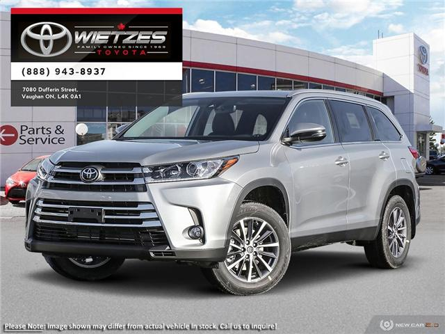 2019 Toyota Highlander XLE AWD (Stk: 68475) in Vaughan - Image 1 of 24