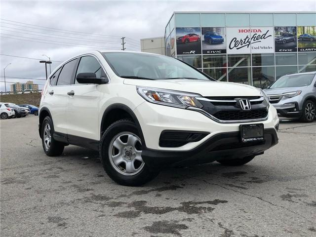 2016 Honda CR-V LX (Stk: 190629P) in Richmond Hill - Image 1 of 17