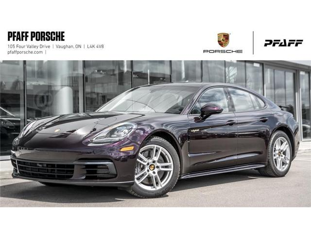 2018 Porsche Panamera 4 e-Hybrid (Stk: PD12504) in Vaughan - Image 1 of 21