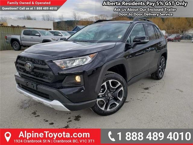 2019 Toyota RAV4 Trail (Stk: W033774) in Cranbrook - Image 1 of 15