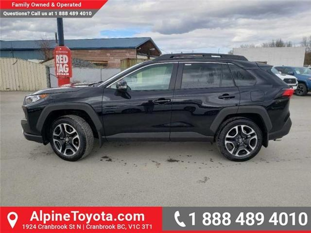 2019 Toyota RAV4 Trail (Stk: W033774) in Cranbrook - Image 2 of 15