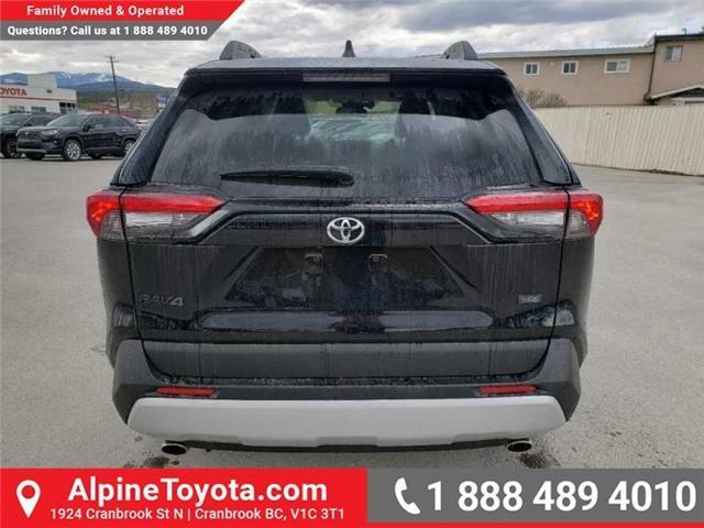 2019 Toyota RAV4 Trail (Stk: W033774) in Cranbrook - Image 4 of 15