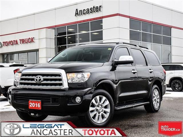 2016 Toyota Sequoia Platinum 5.7L V8 (Stk: 19145A) in Ancaster - Image 1 of 26