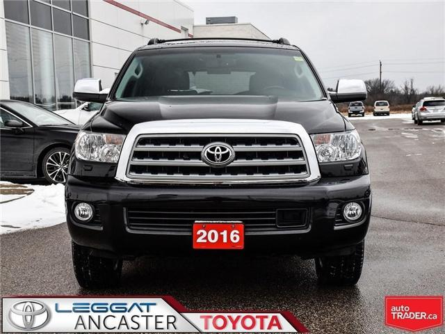 2016 Toyota Sequoia Platinum 5.7L V8 (Stk: 19145A) in Ancaster - Image 2 of 26