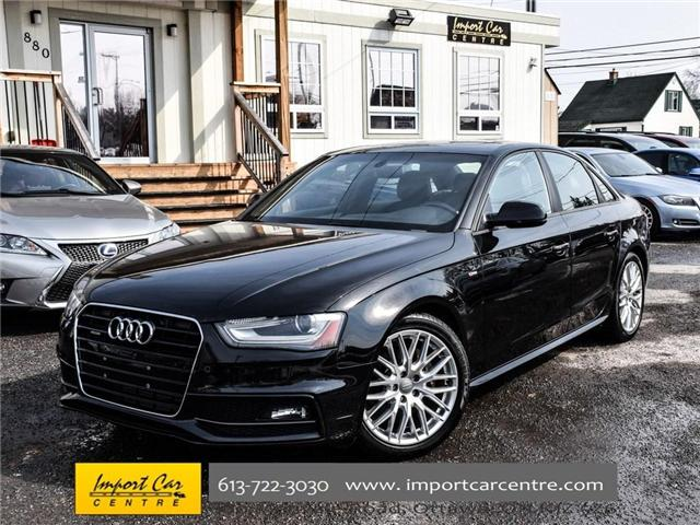 2015 Audi A4 2.0T Komfort plus (Stk: 035464) in Ottawa - Image 1 of 30