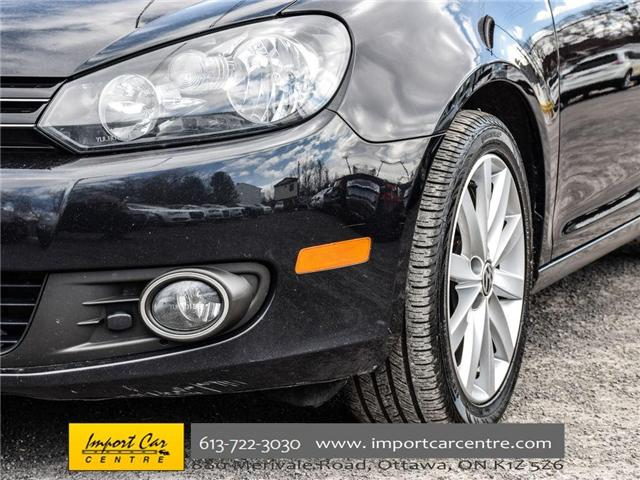 2013 Volkswagen Golf 2.0 TDI Highline (Stk: 682909) in Ottawa - Image 11 of 30