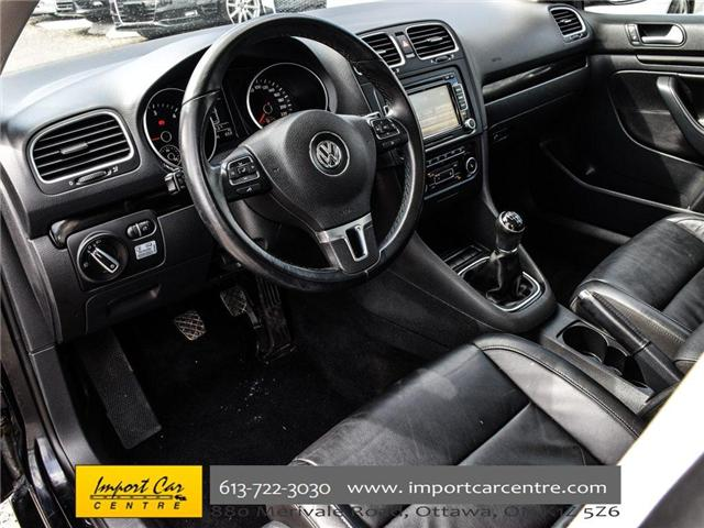 2013 Volkswagen Golf 2.0 TDI Highline (Stk: 682909) in Ottawa - Image 14 of 30