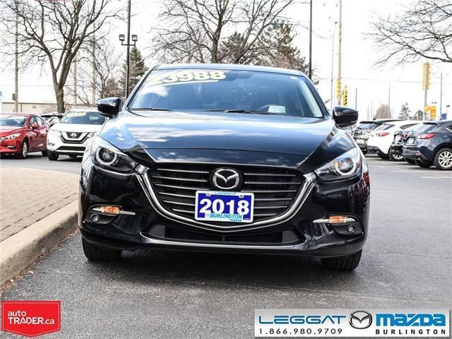 2018 Mazda Mazda3 GT- PREMIUM PKG, AUTOMATIC, TINT, BOSE STEREO (Stk: 1829) in Burlington - Image 2 of 25