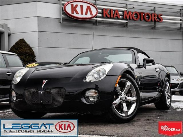 2007 Pontiac Solstice Base (Stk: W0097) in Burlington - Image 1 of 14