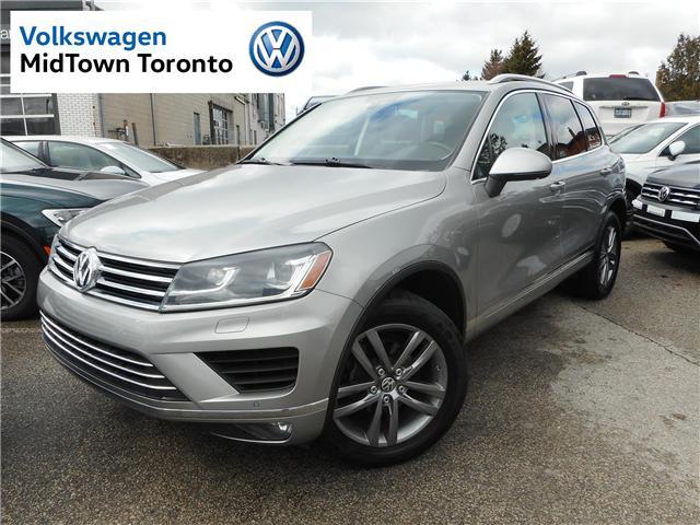2016 Volkswagen Touareg  (Stk: P7205) in Toronto - Image 1 of 30