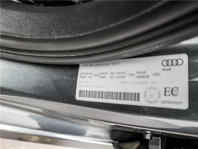 2018 Audi A6 2.0T Technik (Stk: 180754) in Toronto - Image 28 of 30