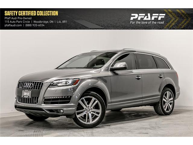 2012 Audi Q7 3.0 Premium Plus (Stk: C6603A) in Woodbridge - Image 1 of 22