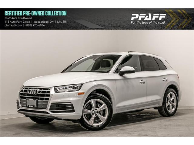2018 Audi Q5 2.0T Progressiv (Stk: C6659) in Woodbridge - Image 1 of 22
