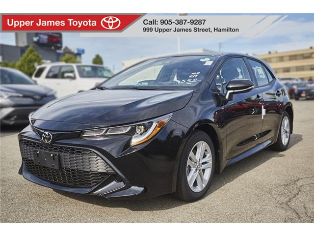 2019 Toyota Corolla Hatchback Base (Stk: 190483) in Hamilton - Image 1 of 16