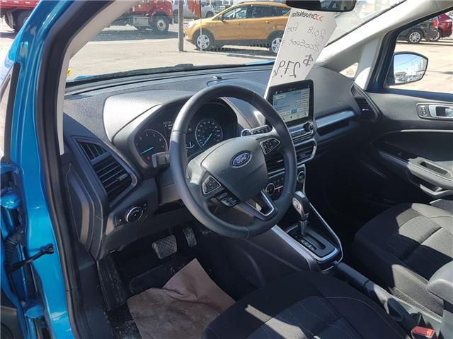 2018 Ford EcoSport SE (Stk: A2718) in Saskatoon - Image 9 of 18