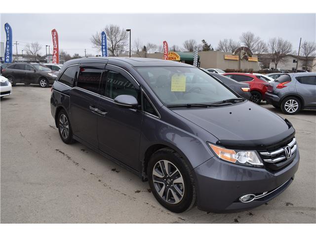 2015 Honda Odyssey Touring (Stk: P36016) in Saskatoon - Image 4 of 27