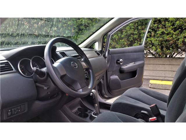2011 Nissan Versa 1.8S (Stk: G0145A) in Abbotsford - Image 9 of 17