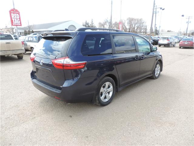 2018 Toyota Sienna LE 8-Passenger One Owner, Heated Seats, Backup
