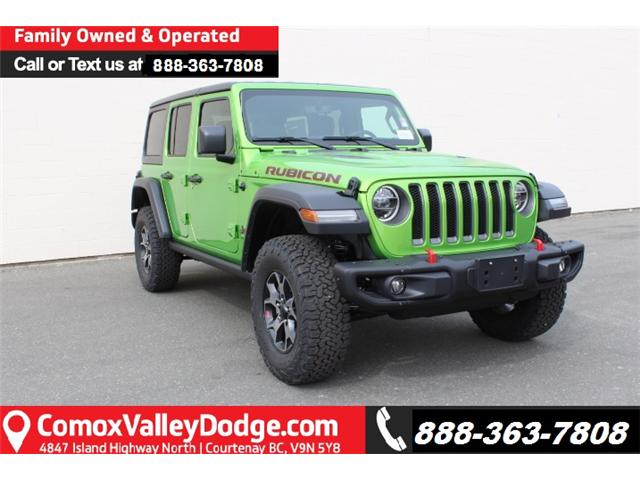 2019 Jeep Wrangler Unlimited Rubicon (Stk: W550772) in Courtenay - Image 1 of 29