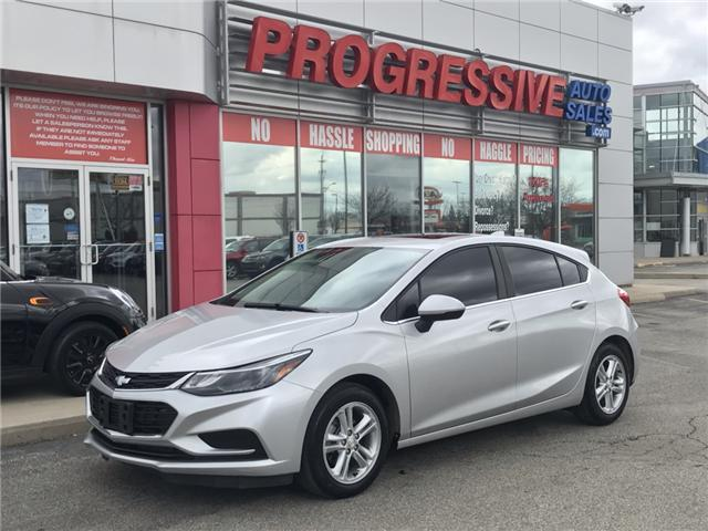 2017 Chevrolet Cruze Hatch LT Auto (Stk: HS581888) in Sarnia - Image 1 of 26
