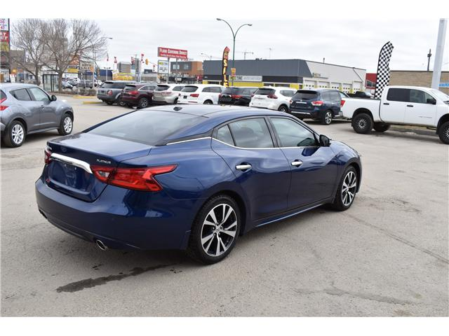 2016 Nissan Maxima Platinum (Stk: CON3) in Saskatoon - Image 4 of 27
