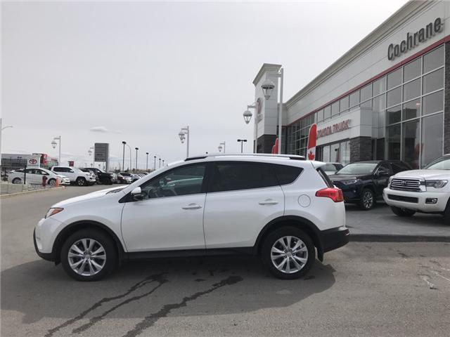 2015 Toyota RAV4 Limited (Stk: 2830) in Cochrane - Image 2 of 8