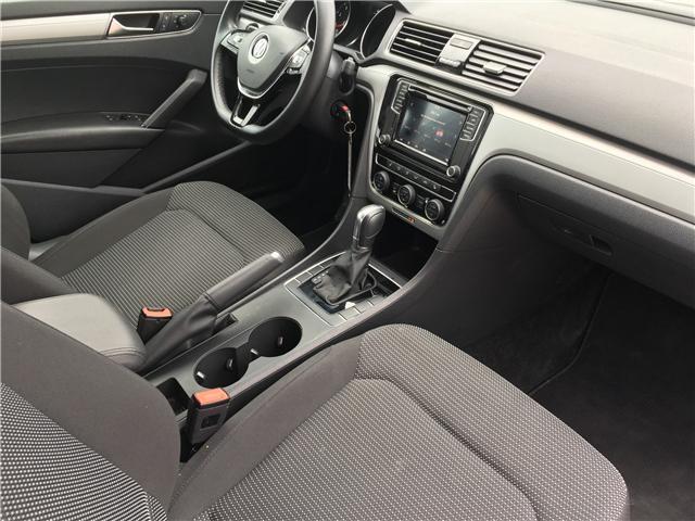 2018 Volkswagen Passat 2.0 TSI Trendline+ (Stk: 18-27912RJB) in Barrie - Image 17 of 26