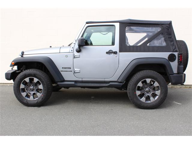2015 Jeep Wrangler Sport (Stk: L870874A) in Courtenay - Image 23 of 25