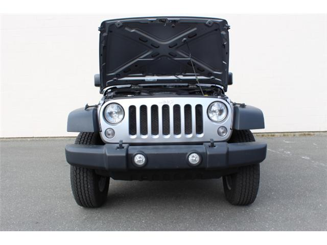 2015 Jeep Wrangler Sport (Stk: L870874A) in Courtenay - Image 24 of 25