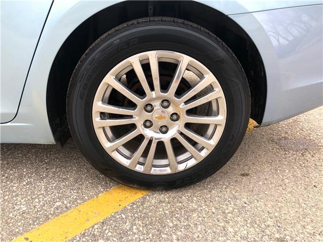 2012 Chevrolet Cruze ECO (Stk: ) in Winnipeg - Image 9 of 22
