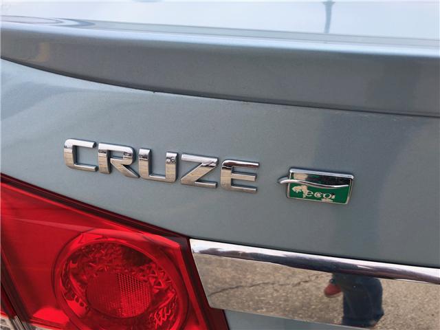 2012 Chevrolet Cruze ECO (Stk: ) in Winnipeg - Image 11 of 22
