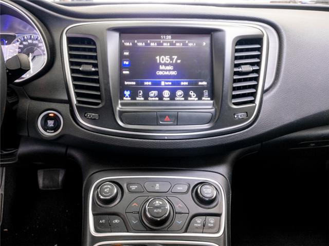 2016 Chrysler 200 Limited (Stk: 9-6072-0) in Burnaby - Image 8 of 23